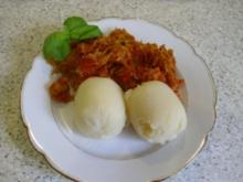 Sauerkraut-Kassler-Pfanne - Rezept