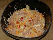 Weißkohlsalat mit Thunfisch - Rezept