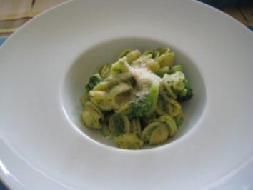 Orecchiette con Broccoli - Rezept