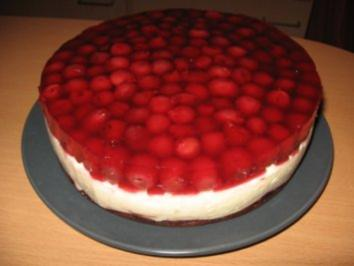Kirsch-Gries-Torte - Rezept