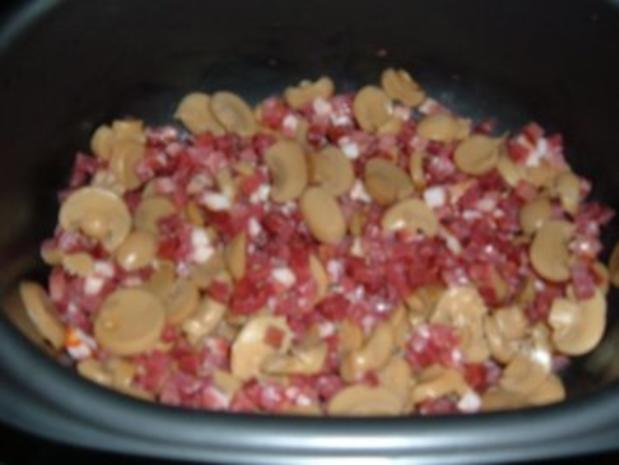 Auflauf : Nudel - Topf aus dem Ofen - Rezept - Bild Nr. 3