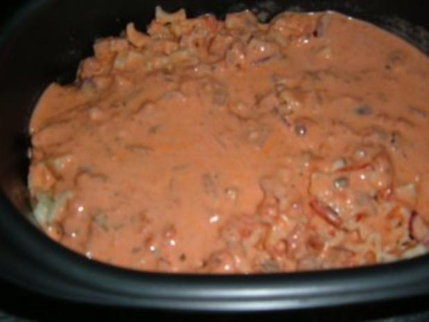 Auflauf : Nudel - Topf aus dem Ofen - Rezept - Bild Nr. 5