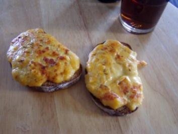 -Snacks- Welsh Rarebits - Rezept