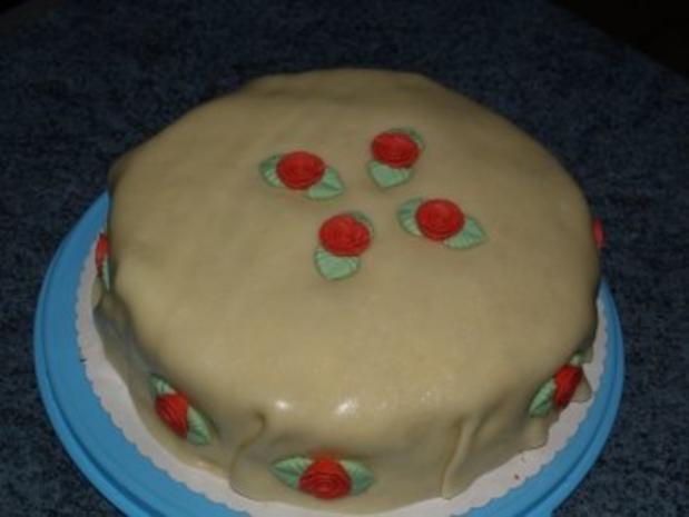 Hochzeits Torte für eine liebe Freundin - Rezept - Bild Nr. 2