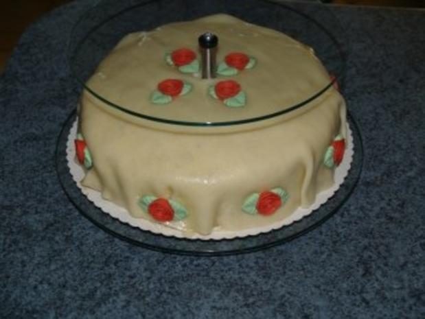 Hochzeits Torte für eine liebe Freundin - Rezept - Bild Nr. 3