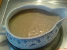 Champignon-Braun-Schaum-Sößchen - Rezept