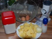 Kartoffelpuffer, wie zu Oma`s Zeiten - Rezept