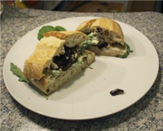 Blaukäse Burger - Rezept