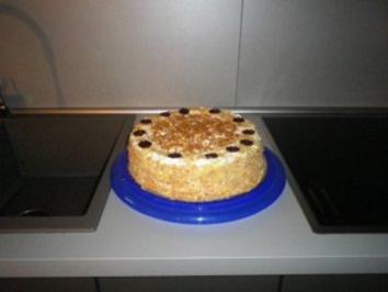 Rezept: Bananen - Vanille - Torte