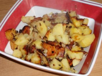 Rezept: Gedämpfte (Kartoffeln)