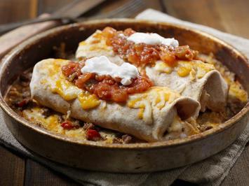 Mexikanische Enchiladas überbacken - Rezept - Bild Nr. 2