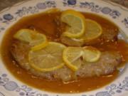 Zitronenschnitzel - Rezept
