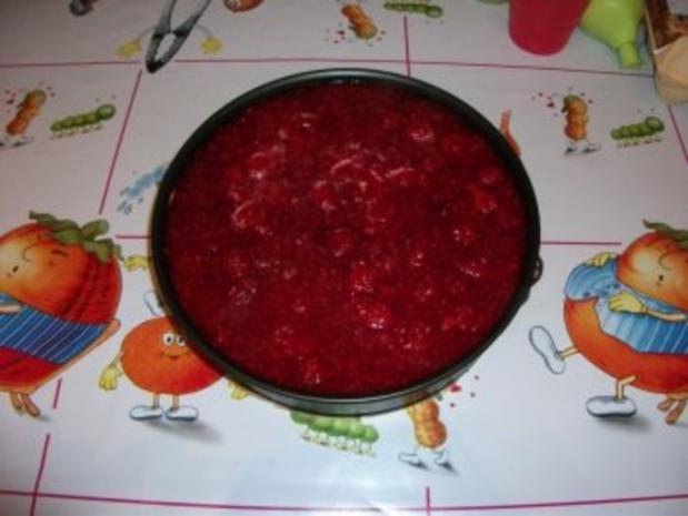 Himbeer Quarksahne Torte - Rezept - Bild Nr. 9