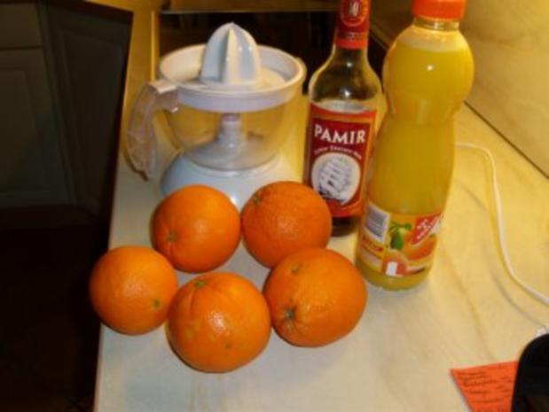 Orangen-Rum-Gelee - Rezept - Bild Nr. 2