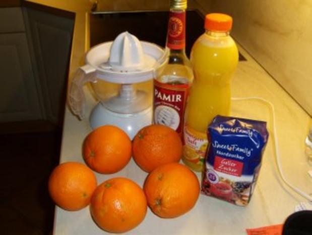 Orangen-Rum-Gelee - Rezept - Bild Nr. 3