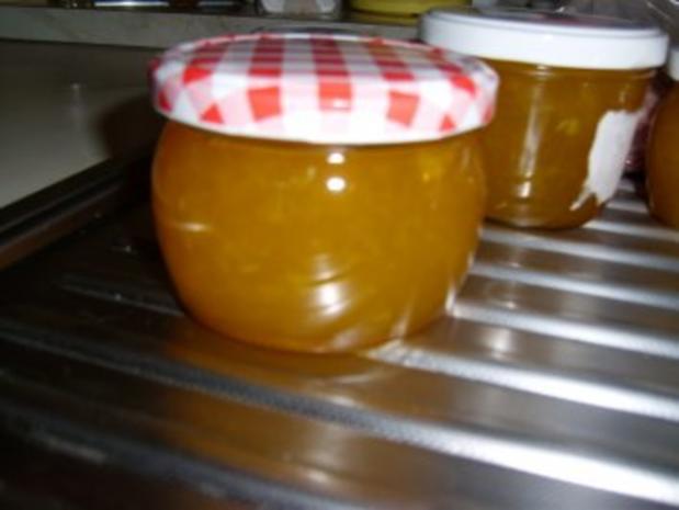 Orangen-Rum-Gelee - Rezept
