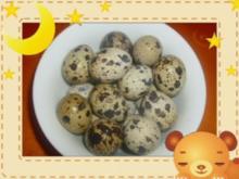Bratkartoffeln mit Gemüse und Wachteleier - Rezept