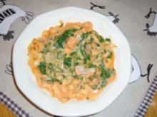 Lachs- Spinat- Frikassee - Rezept