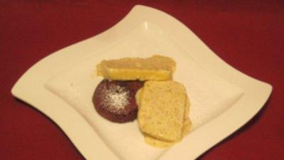 Schokoladentarte mit Mandelparfait - Rezept