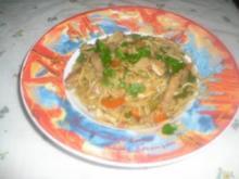 WOK - Bami Goreng - Rezept