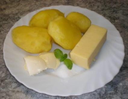 Kartoffeln, Butter und Käse - Rezept