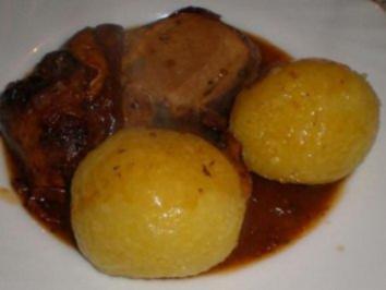 Rezept: Kartoffelknödel halb & halb