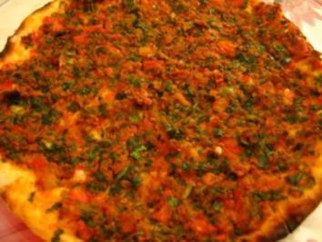 Türkische Pizza - Lahmacun - Rezept