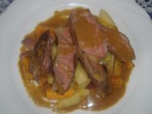 Ochsenkotelett mit Schmorgemüse - Rezept