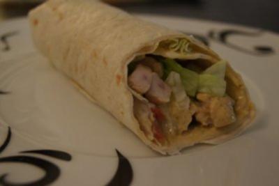 Chicken-Curry-Wrap - Rezept