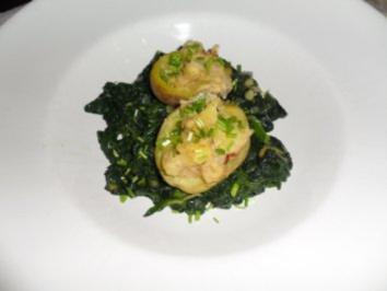 Kartoffeln gefüllt und überbacken - Rezept