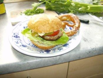 Bayrische Hamburger - Rezept