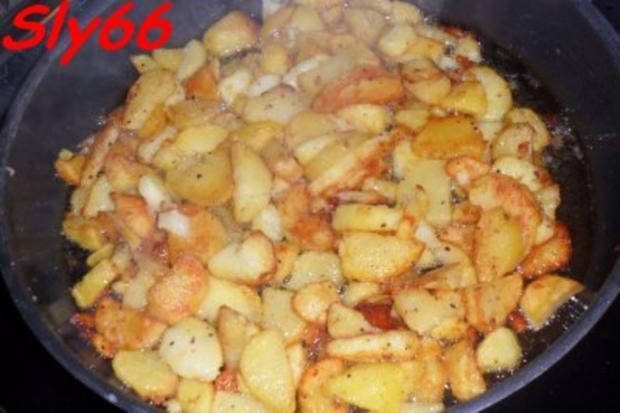 Pfannengerichte:Gröstl aus dem Wok - Rezept - Bild Nr. 10