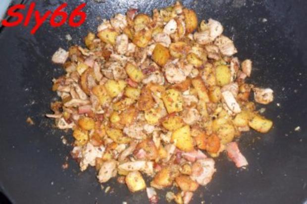 Pfannengerichte:Gröstl aus dem Wok - Rezept - Bild Nr. 18