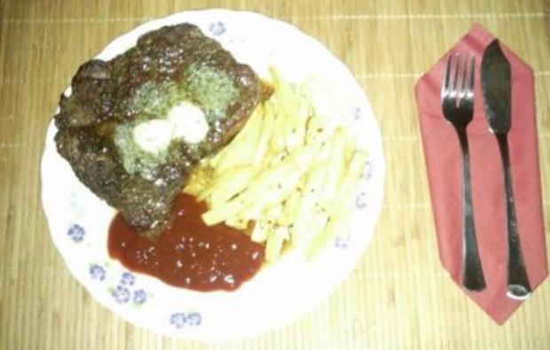 Beefsteak mit Pommes - Rezept - Bild Nr. 10