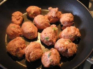 Putenbällchen mit einem Hauch asiatisch - Rezept