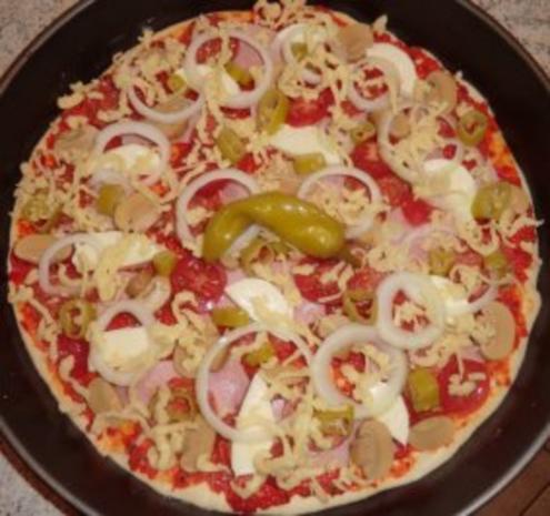 &#9829 Pizza - Diavolo &#9829 - Rezept - Bild Nr. 10