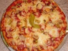 &#9829 Pizza - Diavolo &#9829 - Rezept