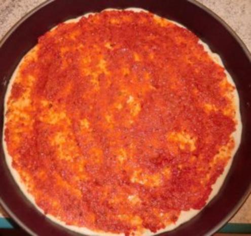 &#9829 Pizza - Diavolo &#9829 - Rezept - Bild Nr. 8