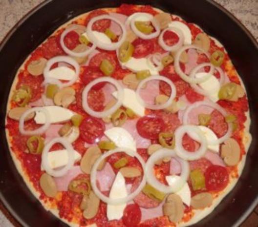 &#9829 Pizza - Diavolo &#9829 - Rezept - Bild Nr. 9
