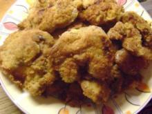 Gebackene Hühnerleber - Rezept