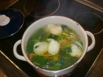Rezept: Weißkohlsuppe ohne Fleisch