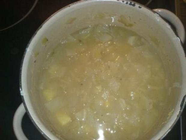 Weißkohlsuppe ohne Fleisch - Rezept - Bild Nr. 6