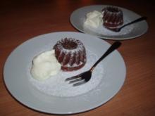 Mini-Schokoladen-Gugelhupf - Rezept