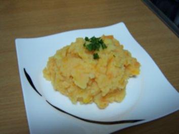 Kartoffel-Karotten-Püree - Rezept