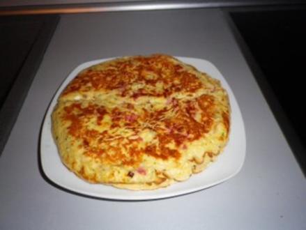 Pizza - Pfannenkuchen - Rezept