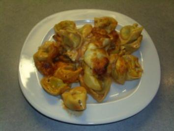 Rezept: Aufläufe: Tortellini-Auflauf
