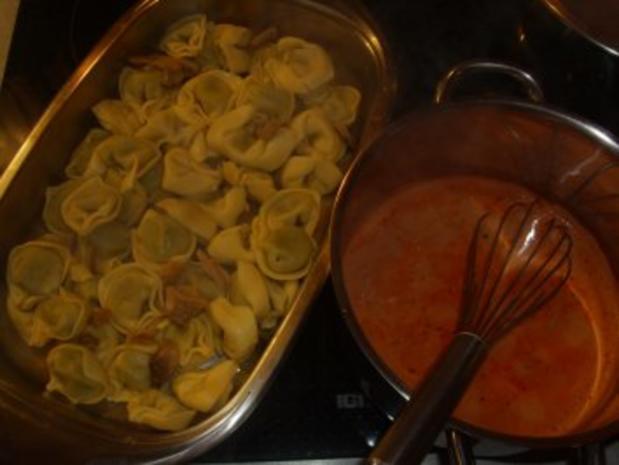 Aufläufe: Tortellini-Auflauf - Rezept - Bild Nr. 3