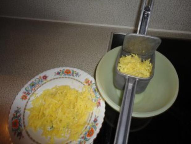 Käse Rösti  mit geräuchertem Saibling - Rezept - Bild Nr. 4