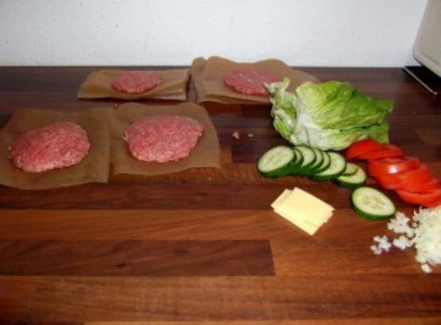 Juicy Lucy Cheese Burger Verdammt lecker! - Rezept - Bild Nr. 4