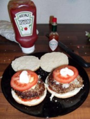 Juicy Lucy Cheese Burger Verdammt lecker! - Rezept - Bild Nr. 5